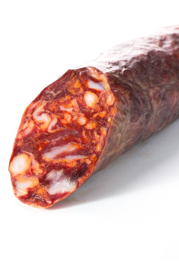 Chorizo Cular Ibérico Bellota Campaña Cortado